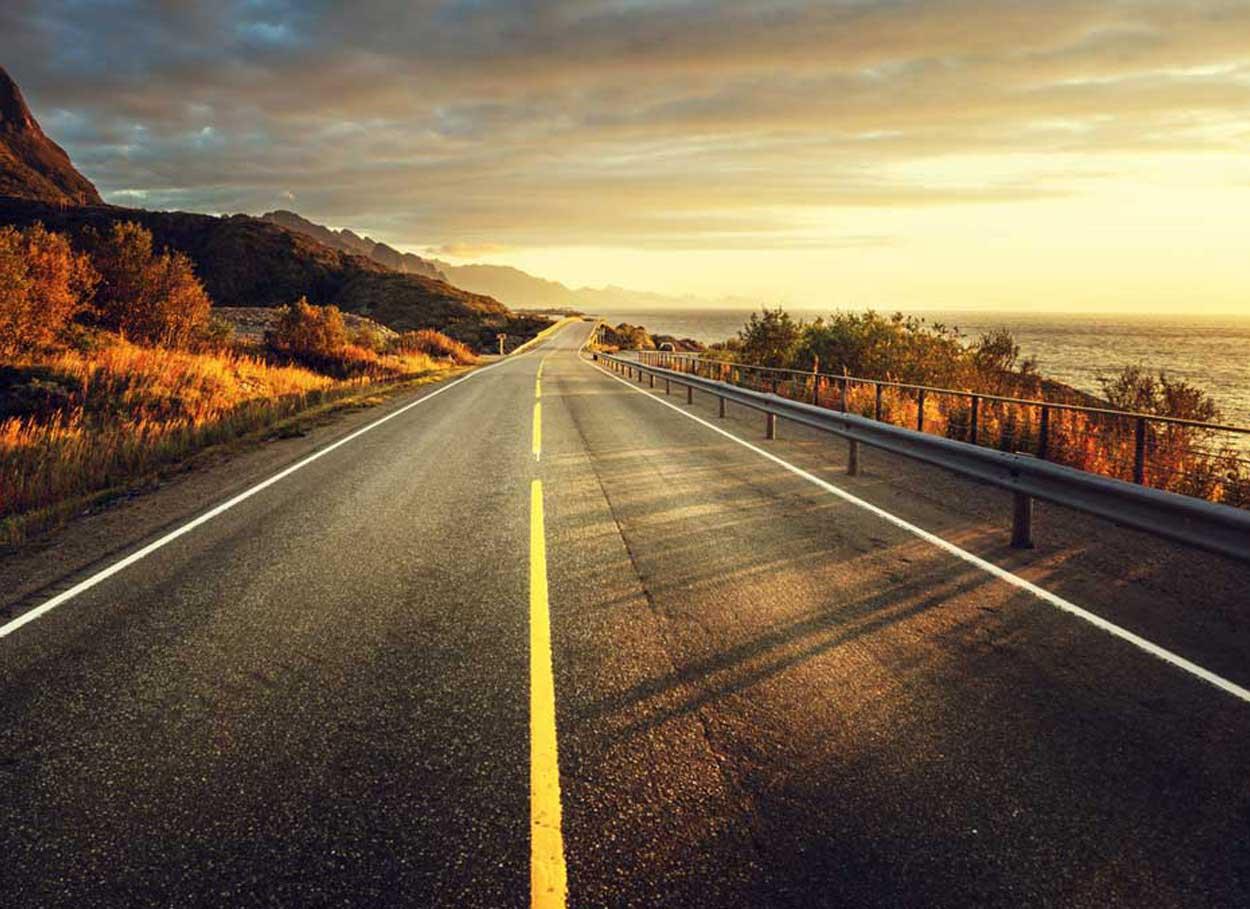 Il viaggio di nozze on the road