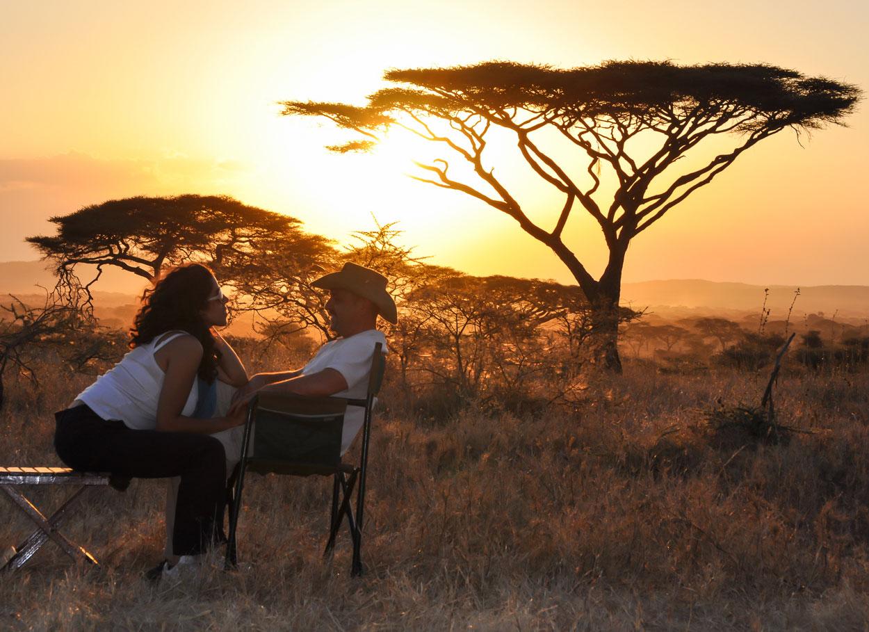 Un Safari per il tuo viaggio di nozze