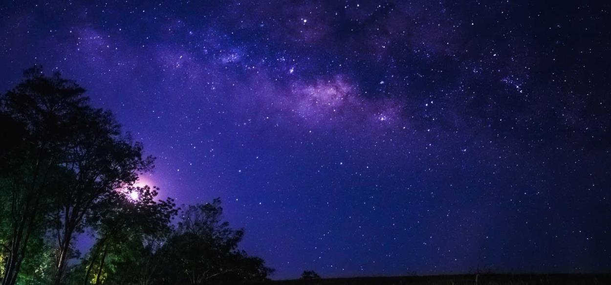 Dormire sotto le stelle del cielo sudafricano