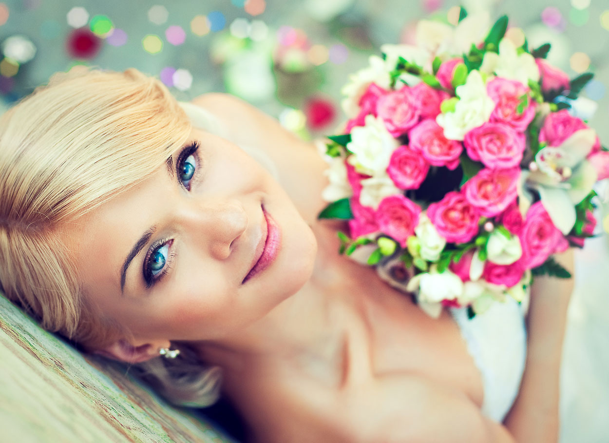 I colori perfetti per la sposa bionda