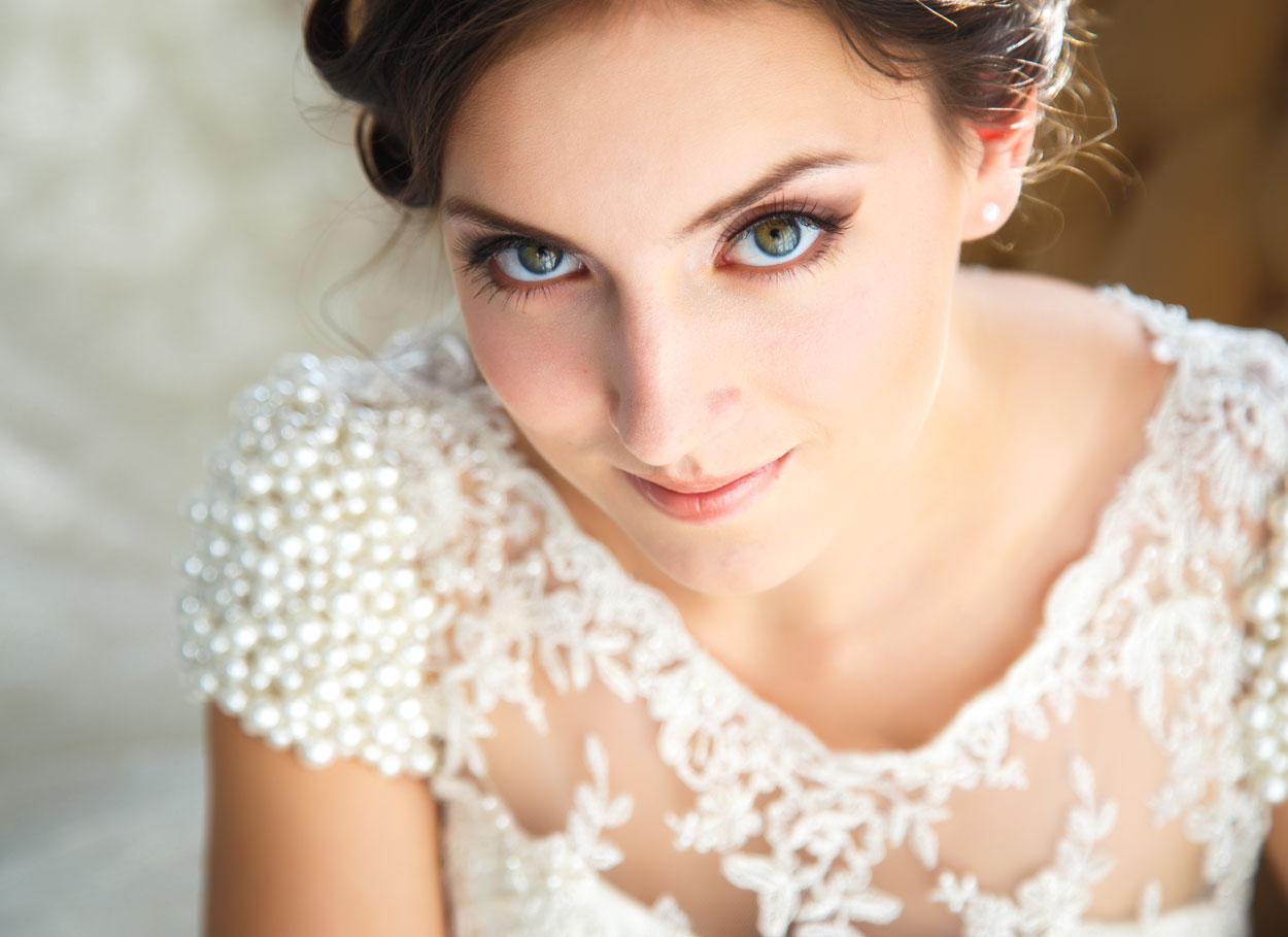 I colori perfetti per la sposa castana