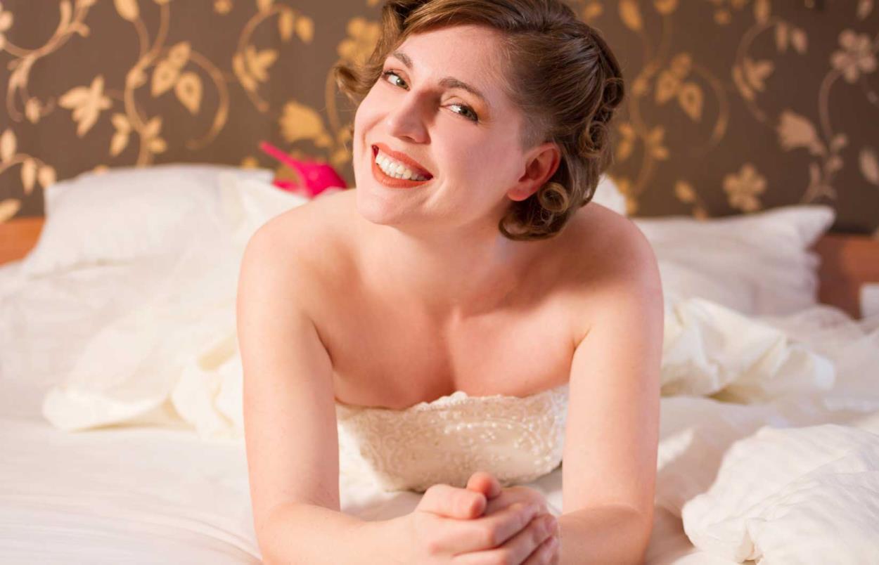 Le acconciature per la sposa con i capelli corti