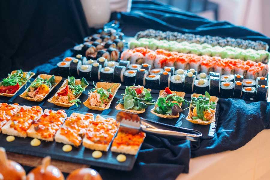 Menu di matrimonio sushi: tante idee per realizzarlo