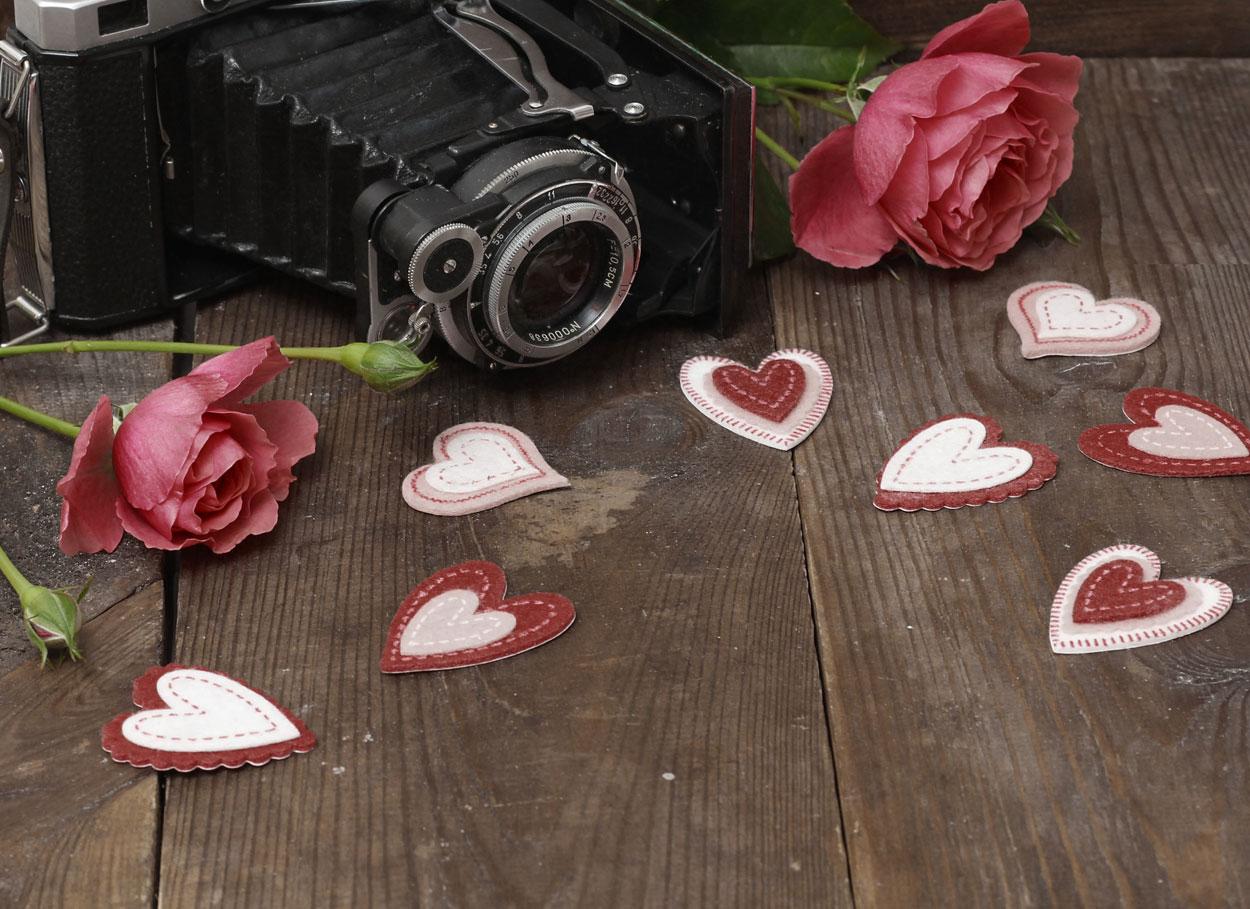Il matrimonio a tema fotografia