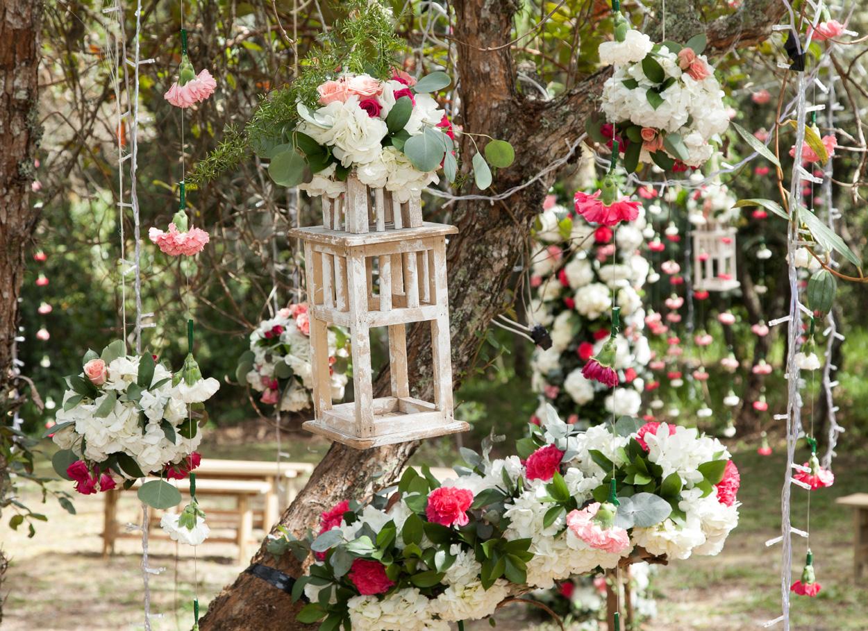 Matrimonio a tema bosco