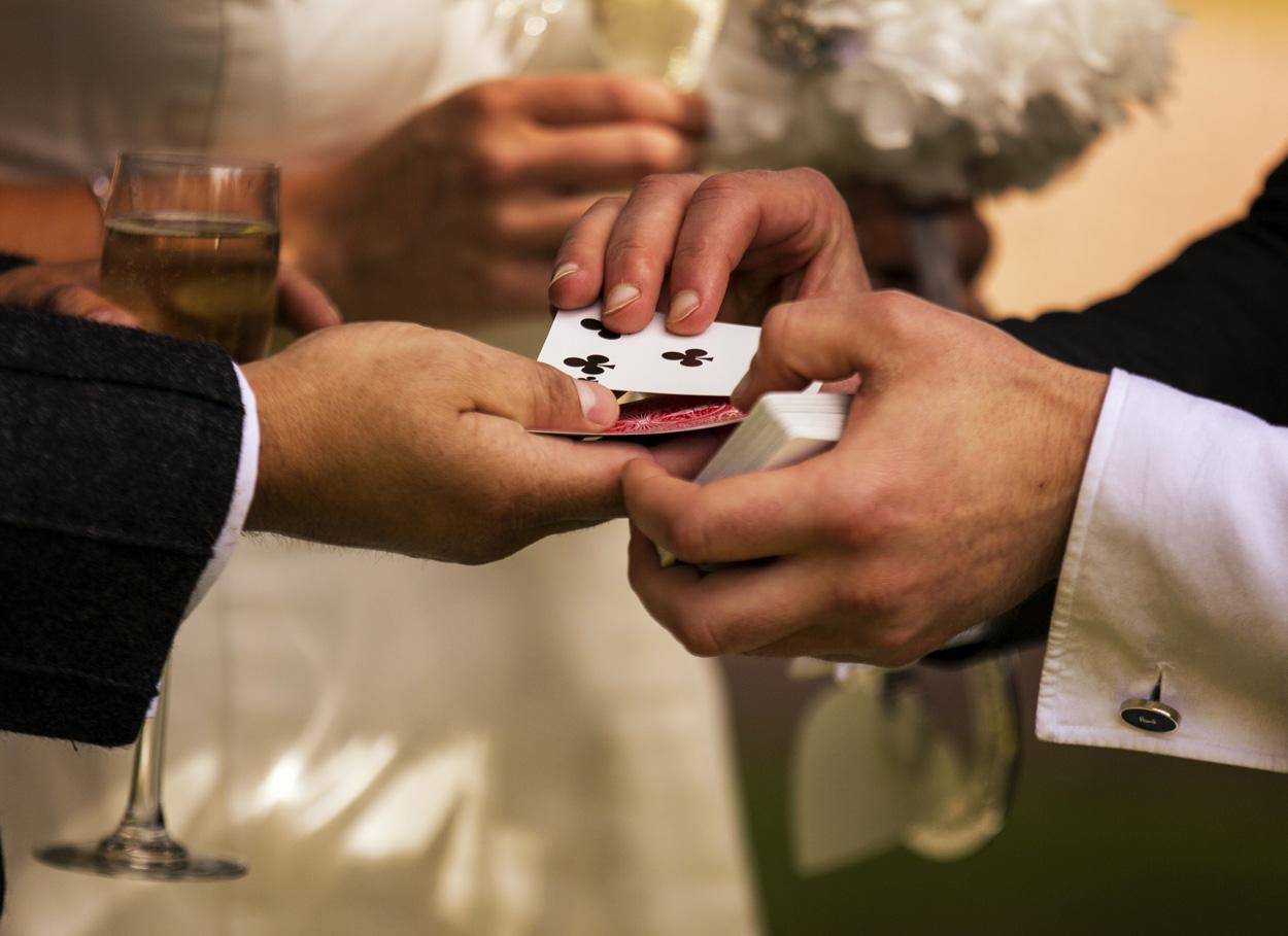 Matrimonio a tema casinò