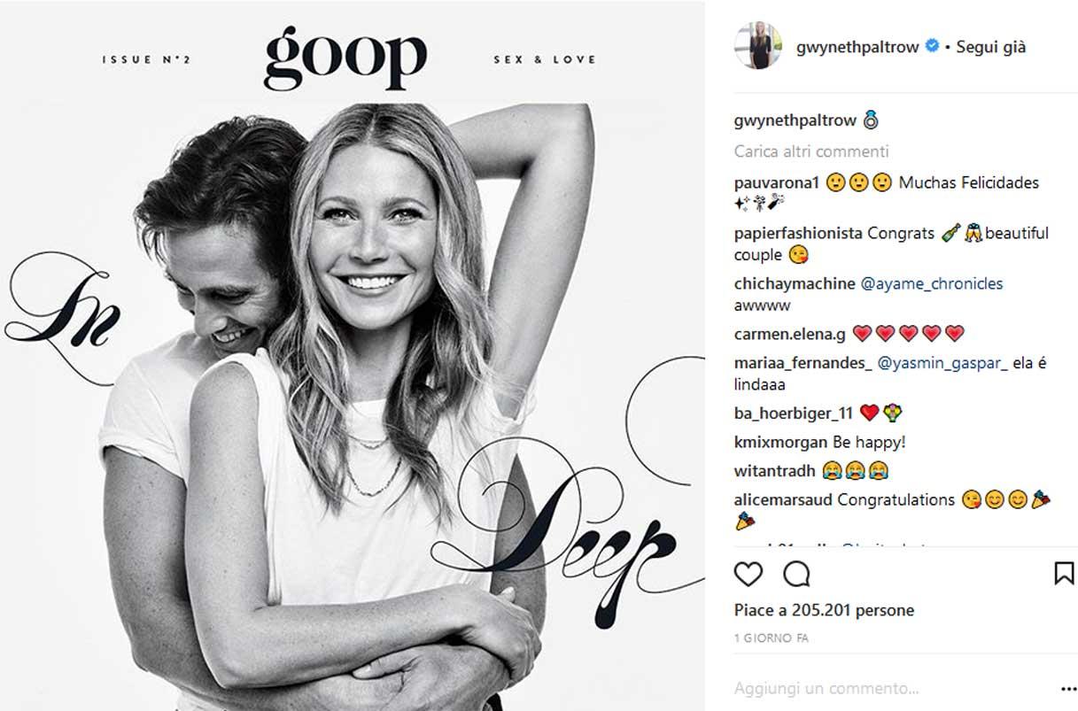 Nozze VIP in arrivo: Gwyneth Paltrow e Brad Falchuck