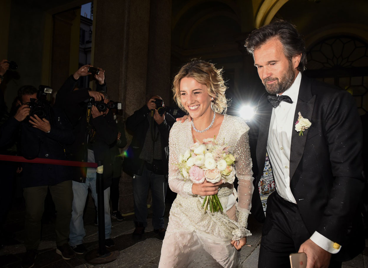 Il matrimonio di Carlo Cracco e Rosa Fanti