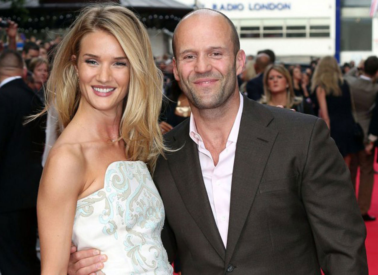 Matrimonio segreto tra Rosie Huntington Whiteley e Jason Statham?