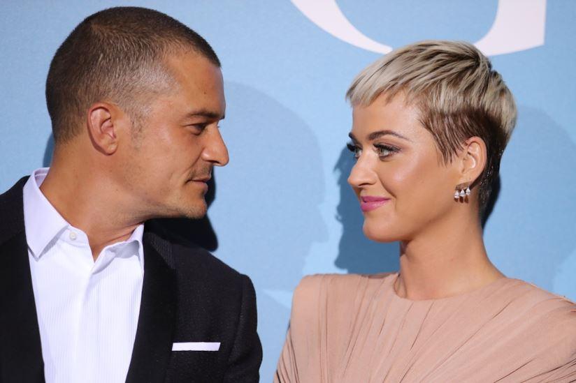 La cerimonia tanto attesa nel 2020: Katy Perry e Orlando Bloom