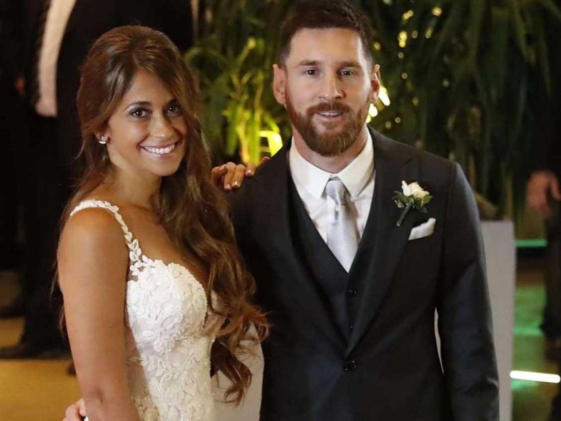 Il matrimonio tra Leo Messi e Antonella Roccuzzo