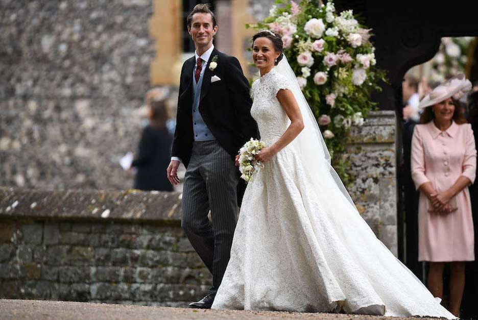 Il matrimonio tra Pippa Middleton e James Matthews