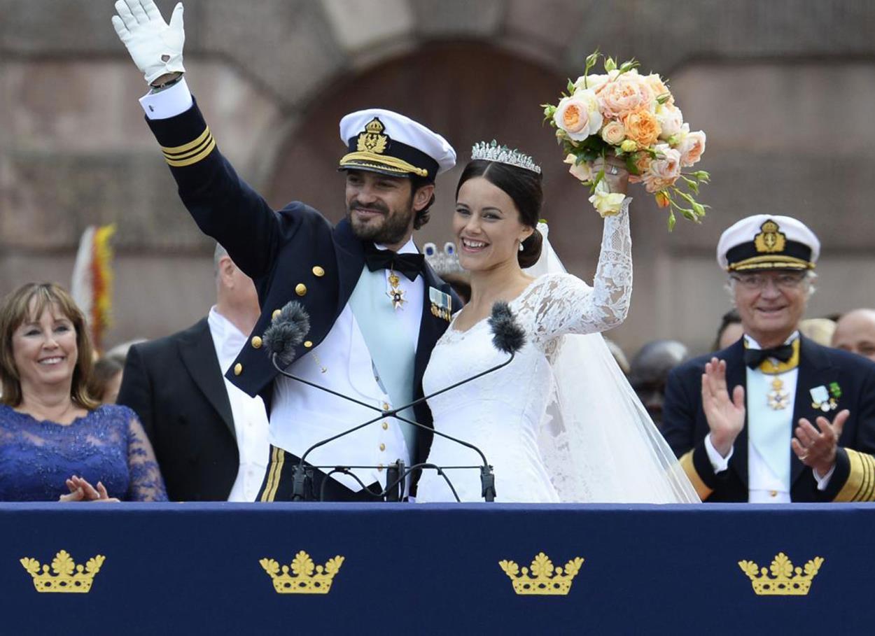 Matrimoni reali: Carlo Filippo di Svezia e Sofia Hellqvist