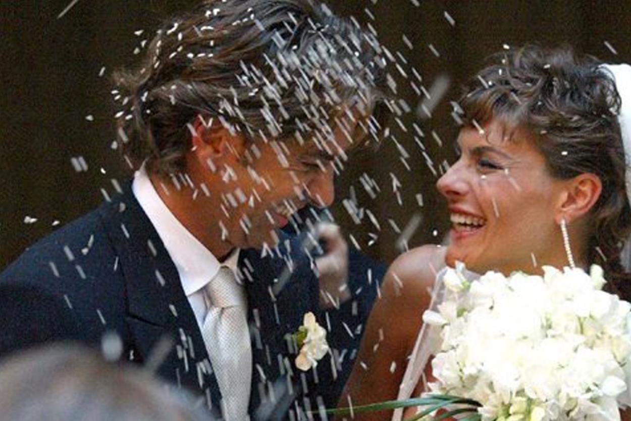 I matrimoni che hanno fatto notizia: Martina Colombari e Alessandro Costacurta