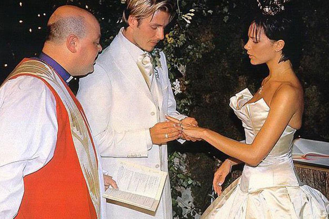 I matrimoni che hanno fatto notizia: David Beckham e Victoria Adams