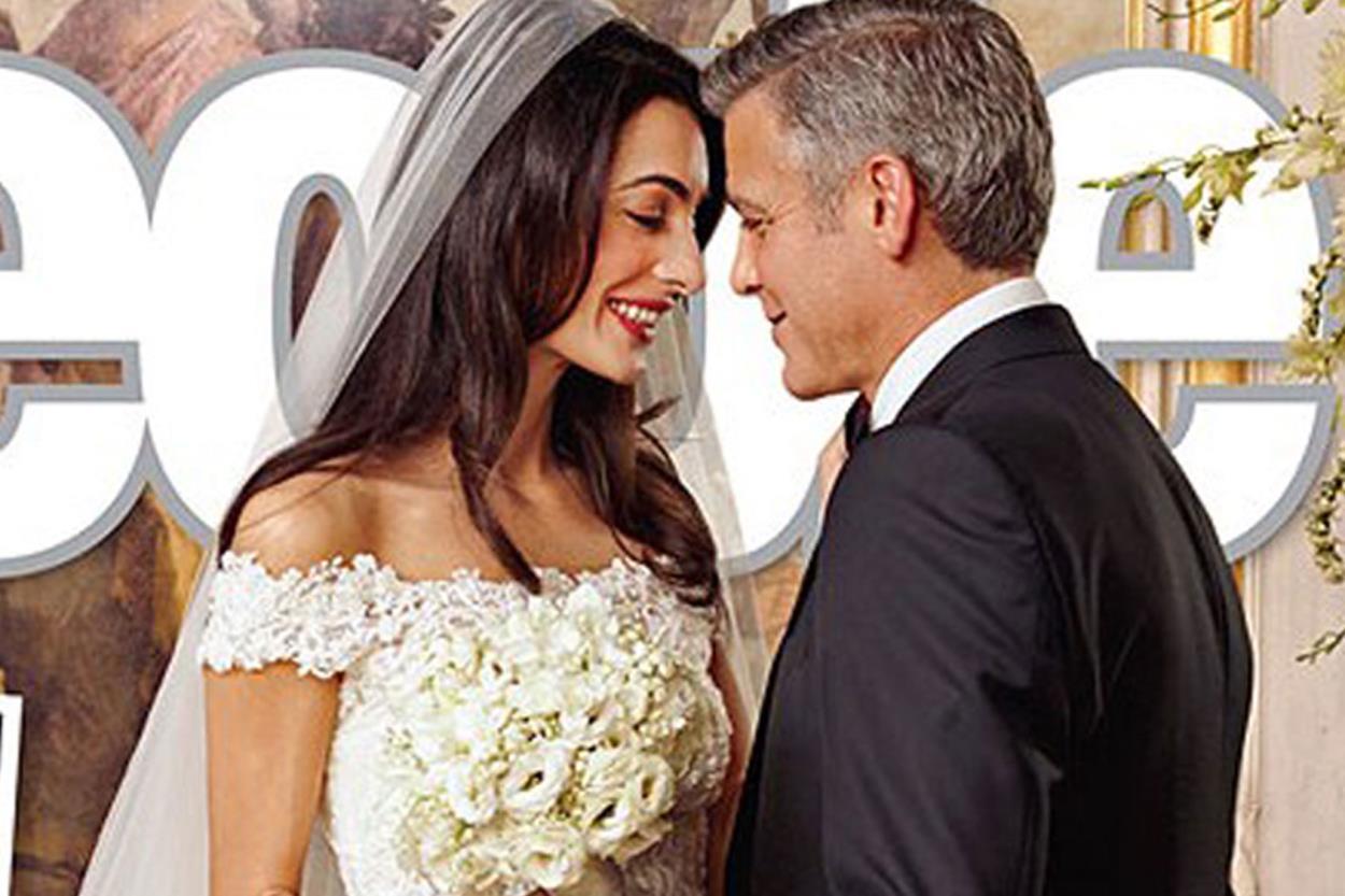 I matrimoni che hanno fatto notizia: George Clooney e Amal Alamuddin