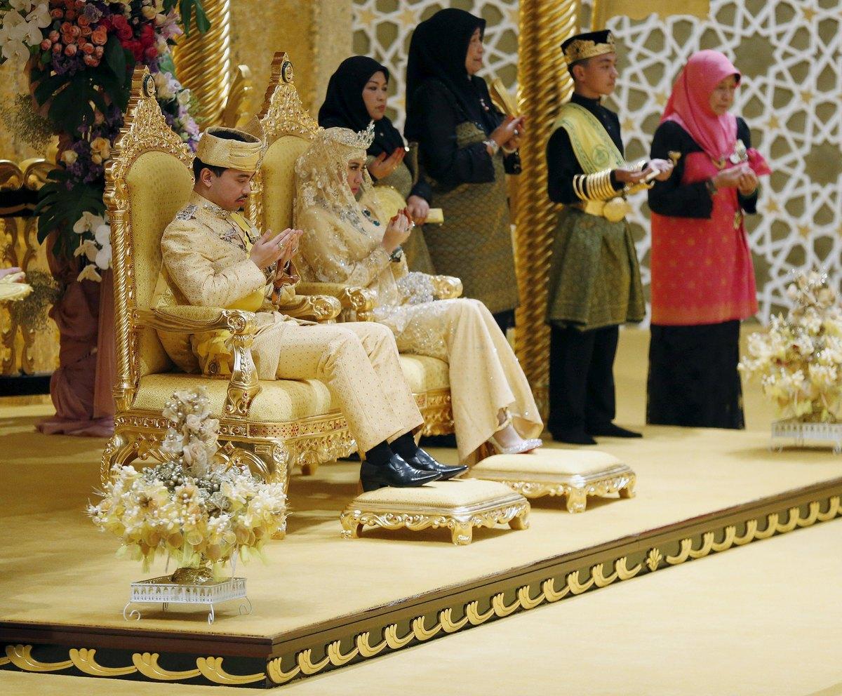 Il matrimonio del figlio del Sultano del Brunei