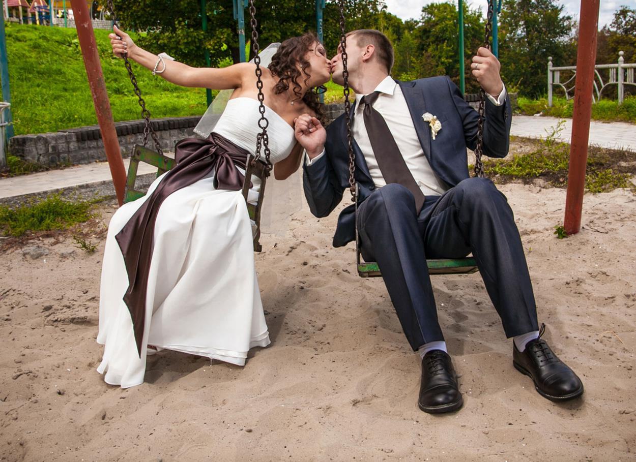 Sposarsi al parco giochi