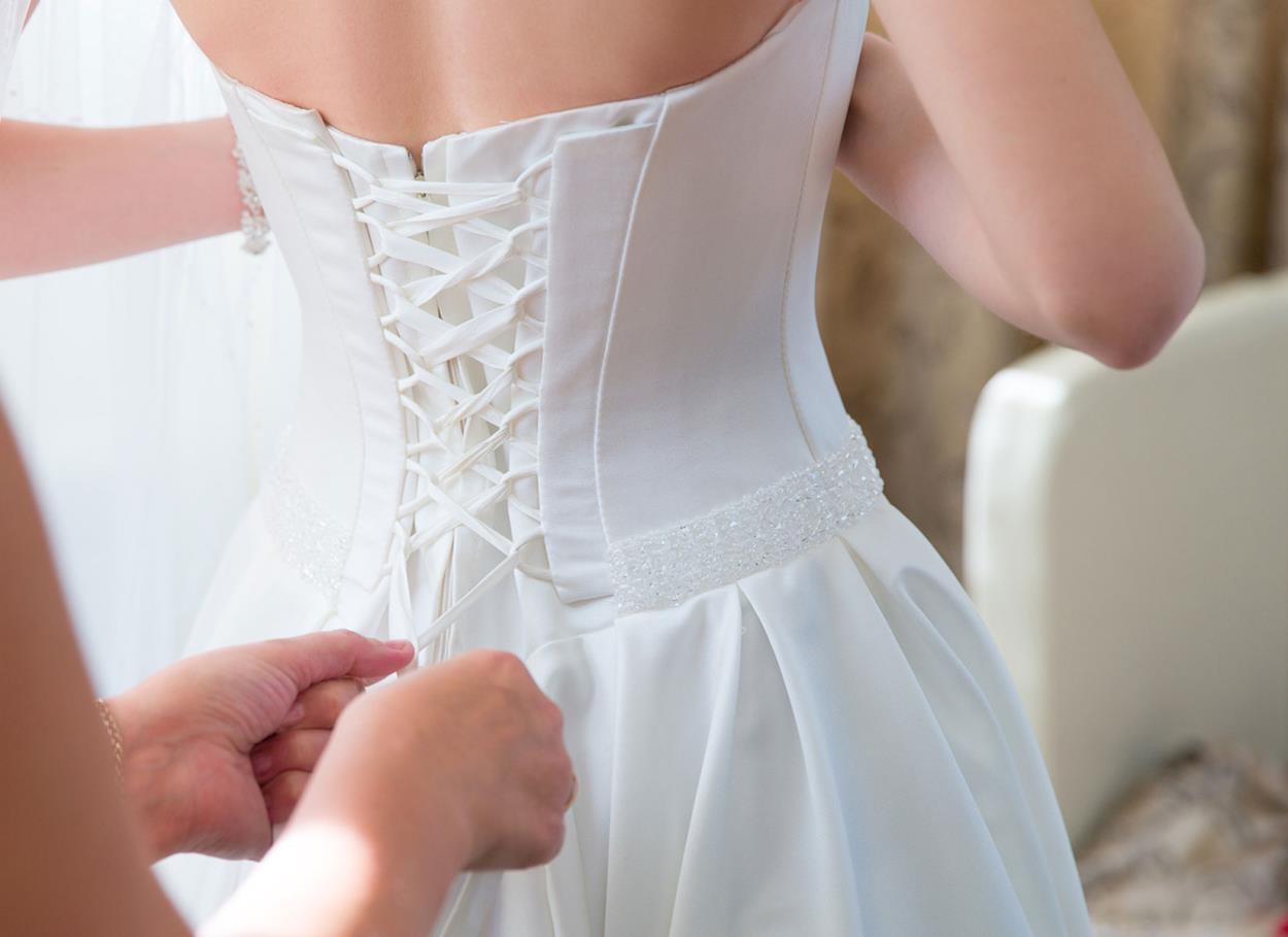 Riciclare l'abito da sposa
