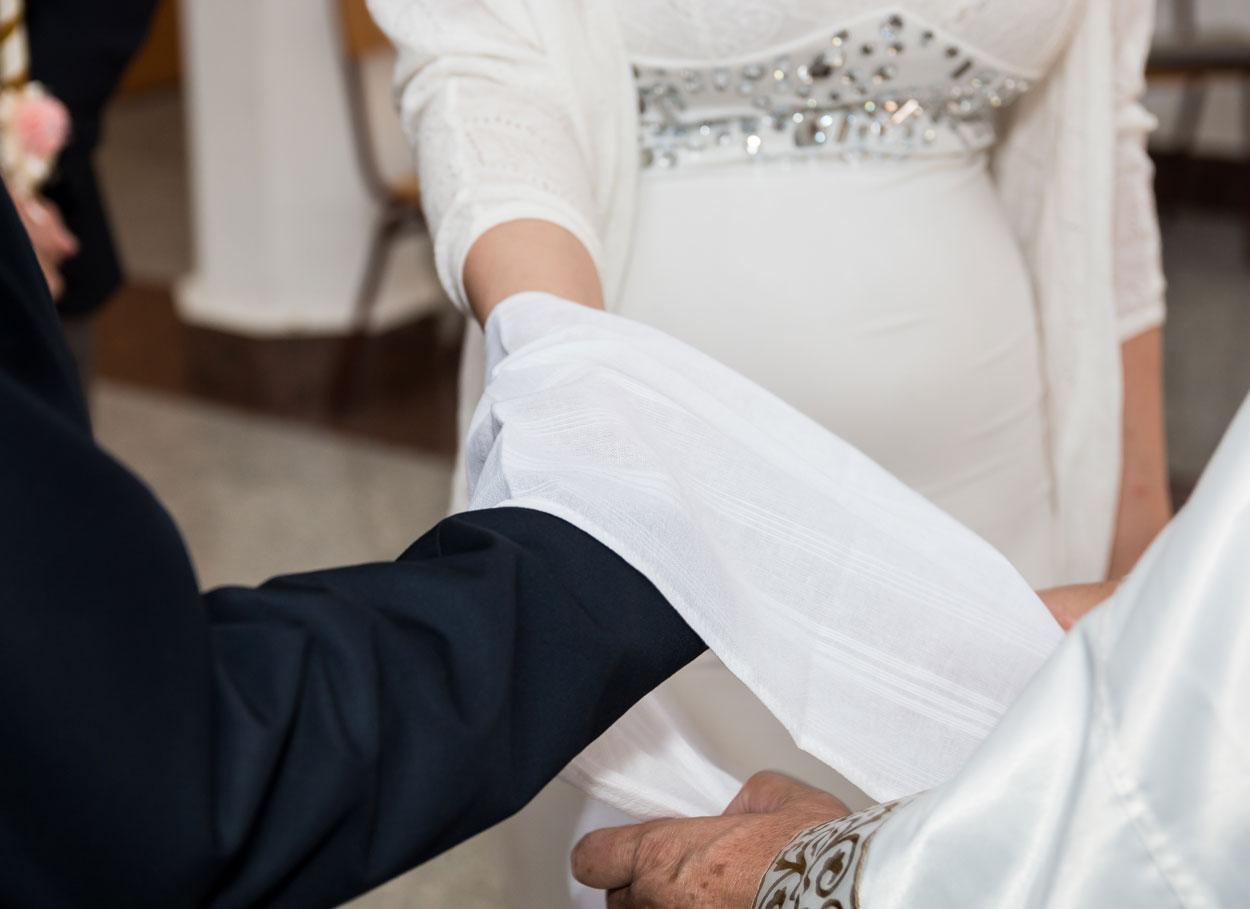 Il matrimonio con handfasting