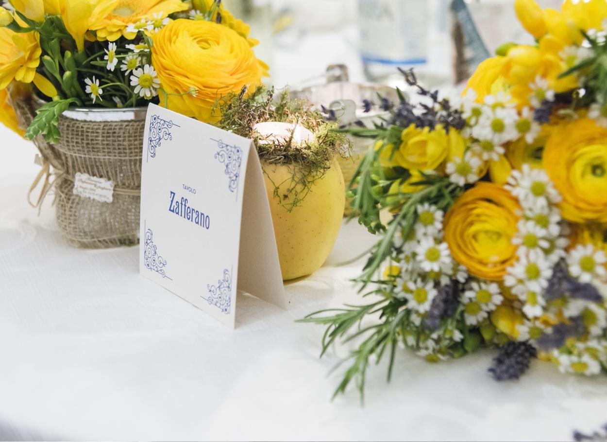 I nostri suggerimenti per la scelta dei nomi dei tavoli